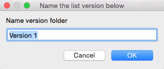 05. Version Folder